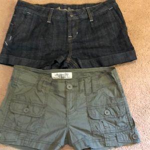 American Rag Shorts 5 Lot khaki Denim